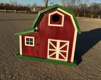 Three Compartment Bird Barn / House