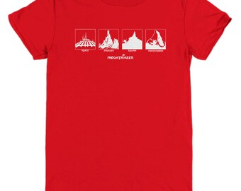 Disney Mountaineer Shirts Gift Disneyland Mountain Shirt Child Youth