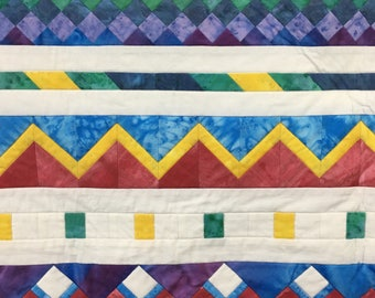 Seminole Row-of-the-Month Quilt