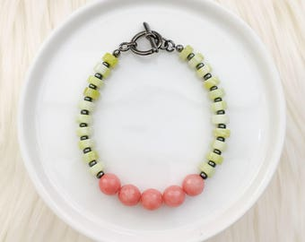 Limited Edition - Beaded Bracelet in Spring Vibes - Mikaylove