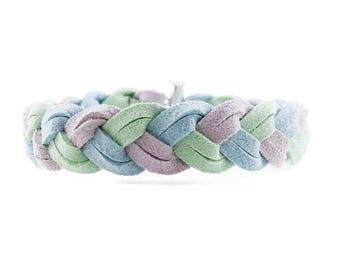 NEW Braided Bracelet in Picnic