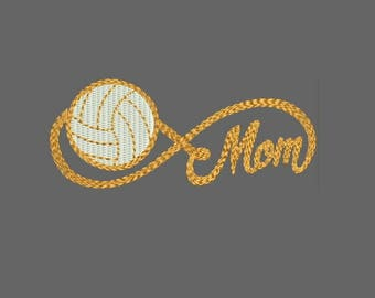 Infinity Sports Mom with Football Machine Embroidery Designs - Instant Download Applique Embroidery Design 319 D