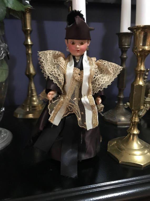 Vintage Priest Doll
