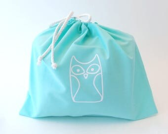 DIY Kit Owl Woodland Pillow Plush - Fleece Fabric Animal Plushie - Do It Yourself Craft for Children and Adults - Make Your Own
