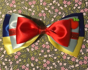 Snow White inspired tuxedo bow