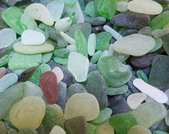 Bulk sea glass out of glass beach Fort Bragg, Ca.  genuine and authentic