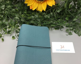 CJ04 - Dusty Turquoise  - ClassicJot Traveler's Notebook/Planner Cover/Journal