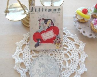 dollhouse  wartime   uk pocket magazine  copy  miniature 12th scale