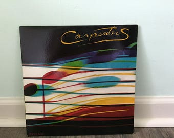 "Carpenters ""Passage"" vinyl record"