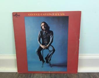 "George Carlin ""FM & AM"" vinyl record"