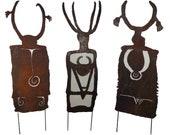 Three shamans