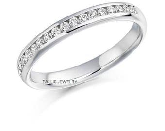 Platinum Womens Diamond Wedding RingsPlatinum RingsWomens BandsMatching