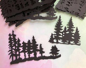 Die Cut Trees Trees.     #BUG-26
