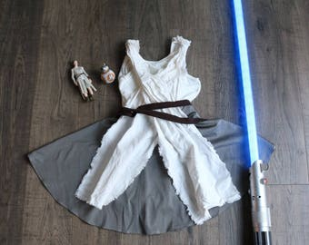 Rey Inspired Twirl Dress