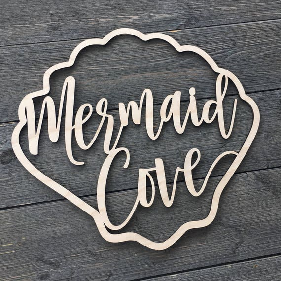 Mermaid Cove Wall Sign