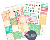Mini Happy Planner Stickers / Animal Stickers / Planner Stickers / Erin Condren Hardbound / Full Sticker Kit / MHP8