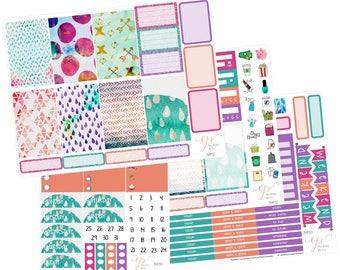 Big Happy Planner Weekly Kit / Boho / Planner Stickers / Weekly Sticker Kit / Erin Condren Hardboard /  BHP50