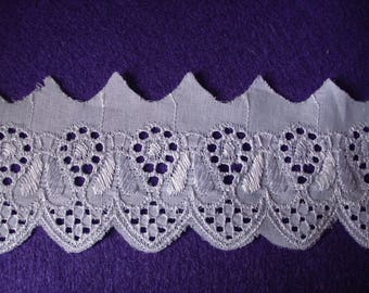 1m lace , white (381)