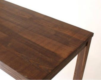 Solid Wood Parsons Desk