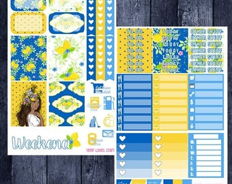 On Sale Sugar Sweet Kit for Erin Condren Life Planner Vertical Layout