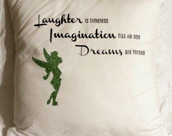 Tinkerbelle Throw Pillow