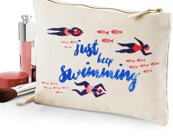 Cosmetic bag - Just Keep Swimming