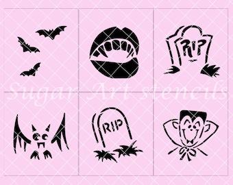 Halloween stencils   Etsy