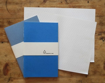 The isometric one, notebook, triangles, sketchbook, journal