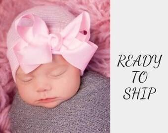 NEWBORN GIRL HAT, newborn baby girl, newborn hospital hat, newborn hat, newborn hats