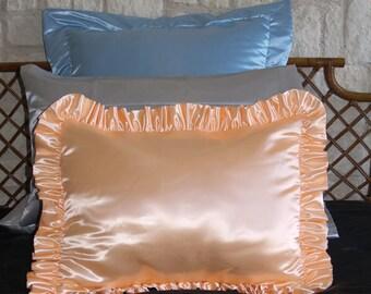 Satin Pillow Shams Etsy