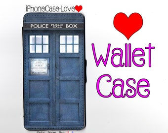 iPhone 7 Case - iPhone 7 Wallet Case - Tardis iphone 7 Case - Tardis iPhone 7 Wallet Case -Doctor Who iphone 7 case - Doctor Who iphone case