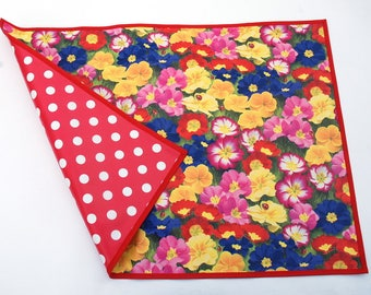 oilcloth placemats, time pad, desk pad, desk pad, wax cloth, placemat, poison school start