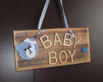 Handmade Baby Sign
