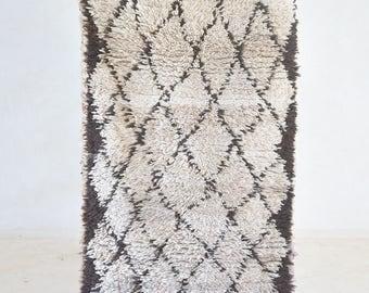 azilal vintage moroccan runner rug modern design