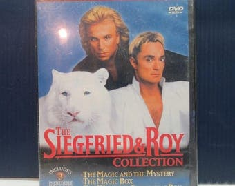 "Brand New Never Opened ""The Siegfried & Roy Collection"" (2 DVD Set)"