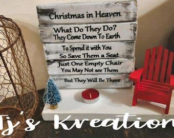 Christmas in heaven decor