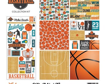 "Echo Park Mini Theme Kit ""Basketball"""