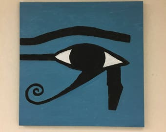 Eye of Horus painting