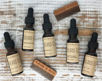 Beard Oil, 1/2oz, All Natural, Vegan