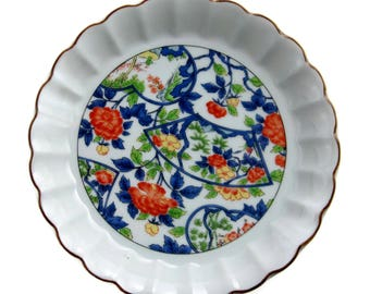 Andrea Sadek Oriental Floral Rimmed Plate