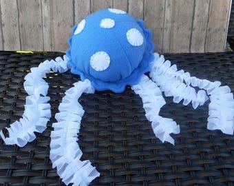 Jellyfish, stuffed jellyfish, jellyfish plushie, hanging jellyfish,nautical nursery, nautical decor, jellyfish toy, sea creature