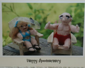 Happy Anniversary You Old Farts - Humorous Card