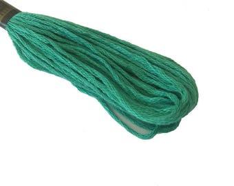 1 skein 8 m stranded Mercerized cotton - Sage Green 161