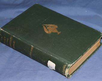 Vintage poetry book: The Poet At The Breakfast Table, 1887, Houghton, Mifflin Co