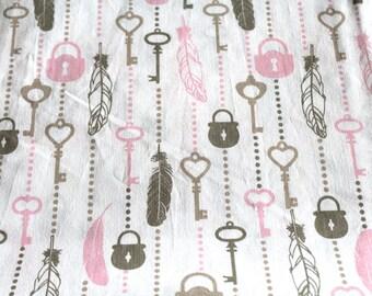 Deco fabric coupon 50 x 70 cm vintage