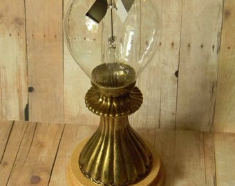 Beautiful Custom Display Crookes Radiometer. A Limited Edition Steampunk Curiosity Shopper Original Quality Demonstration Model.