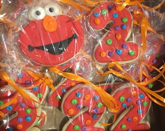 Elmo cookie set