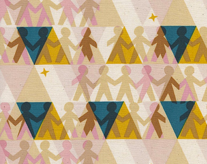 Pre-Sale- Paper People in Sunshine -Paper Cuts -Rashida Coleman-Hale for Cotton + Steel