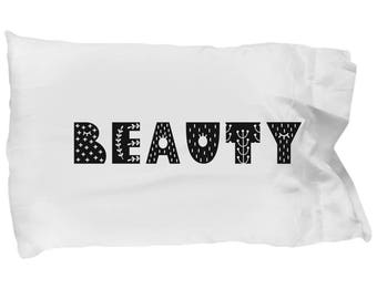 Beauty pillowcase - Valentines Day Gift for Her