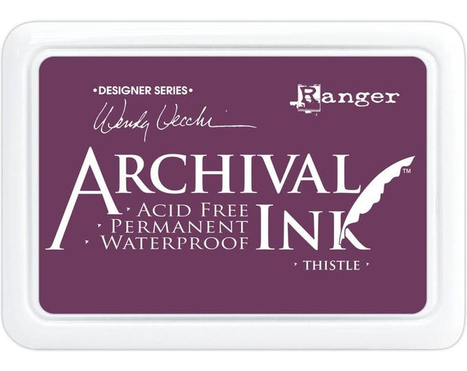 New! THISTLE Wendy Vecchi Archival Ink Pad by Ranger
